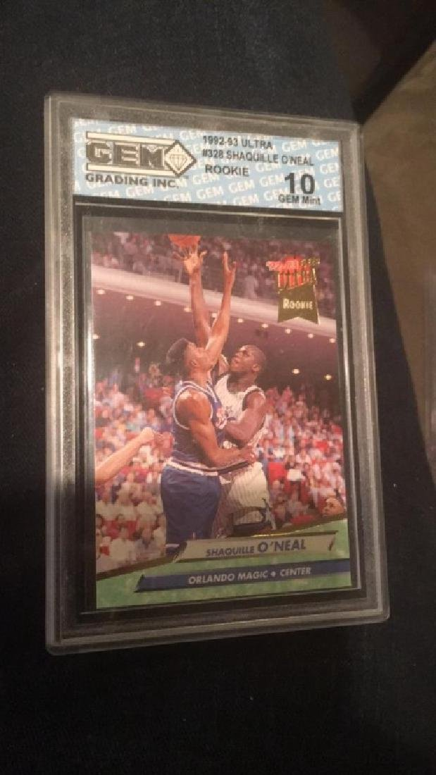 1992-93 Ultra Shaquille O'Neal RC