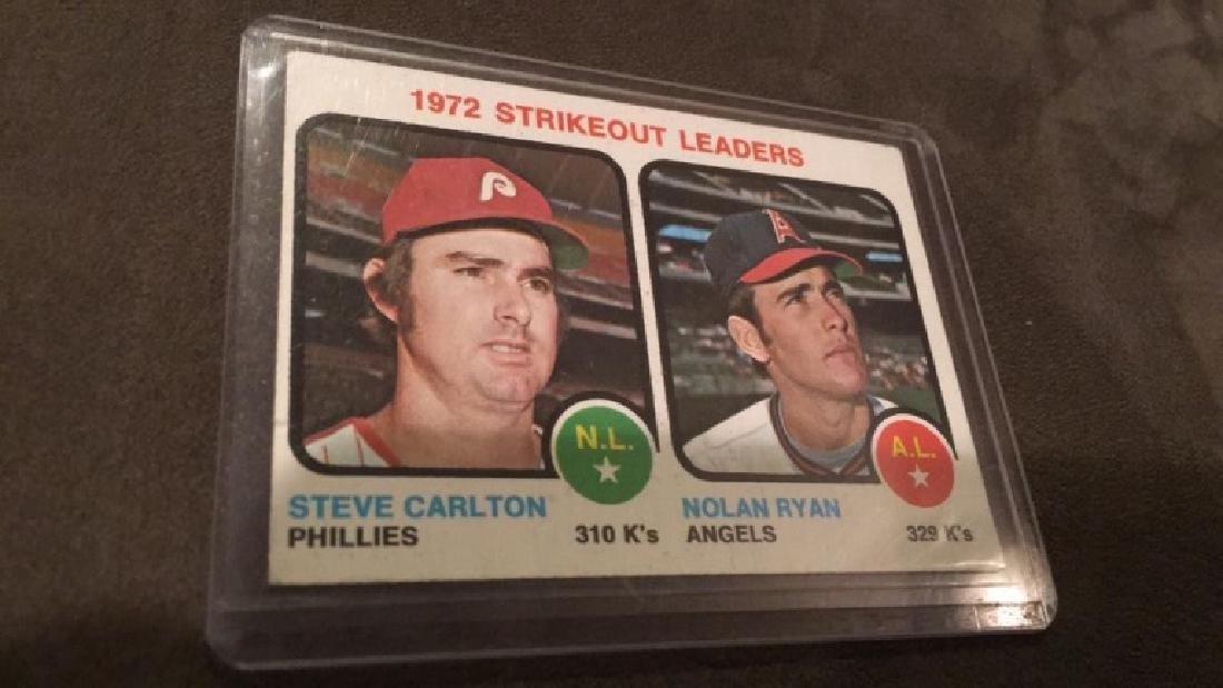 Nolan Ryan Steve Carlton 1972 strike out leaders