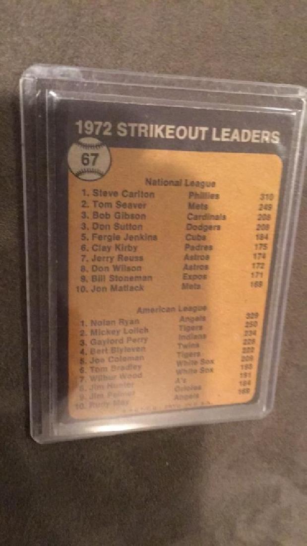 Nolan Ryan Steve Carlton 1972 strike out leaders - 2