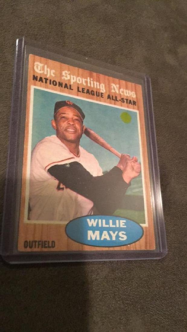 Willie Mays 1962 The Sporting News