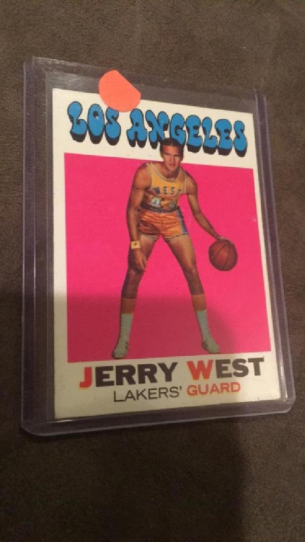 Jerry West 1971-72 Topps #50