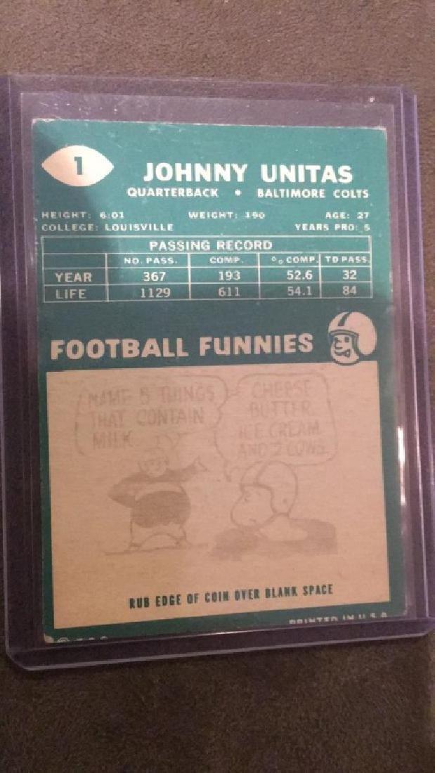 Johnny Unitas #1 - 2