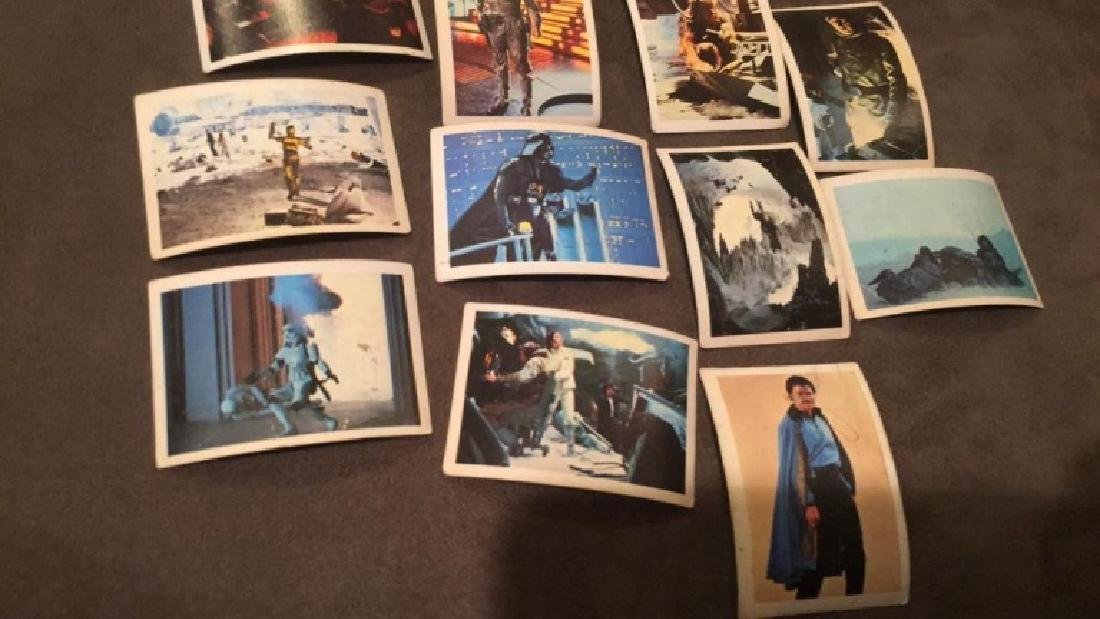 1980 Spanish El Imperio Star Wars mini cards nice - 2