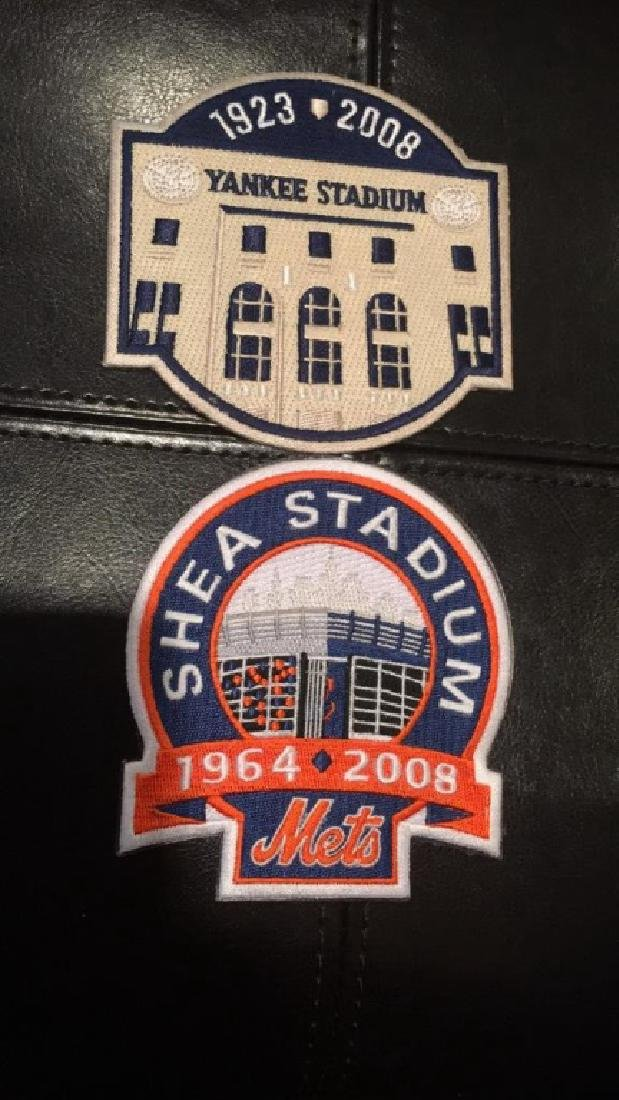 New York Yankees and New York Mets Patch lot
