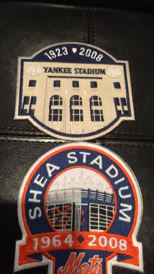 New York Yankees and New York Mets Patch lot - 3