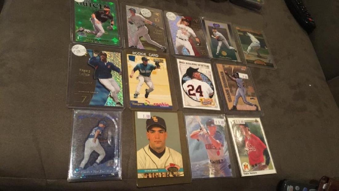 Baseball Card Lot With Inserts And Rookies Alex