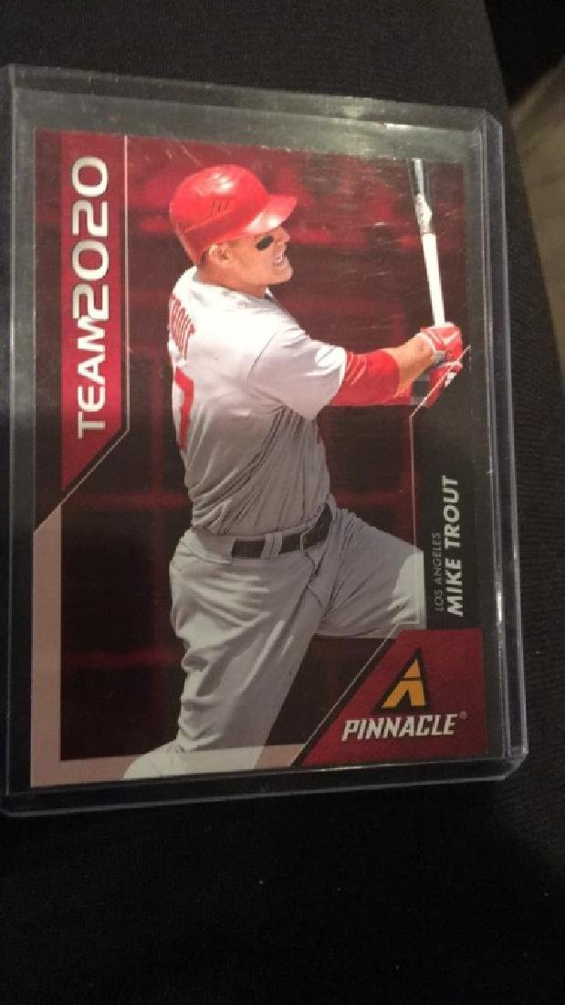 Mike Trout Pinnacle team 2020 ,2013 insert