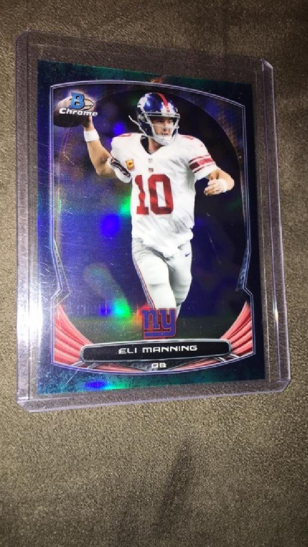 Eli Manning 2014 Bowman from short print/99