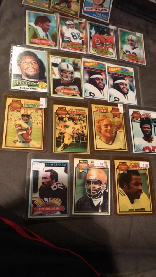Vintage football card lot or at shell Joe - 2