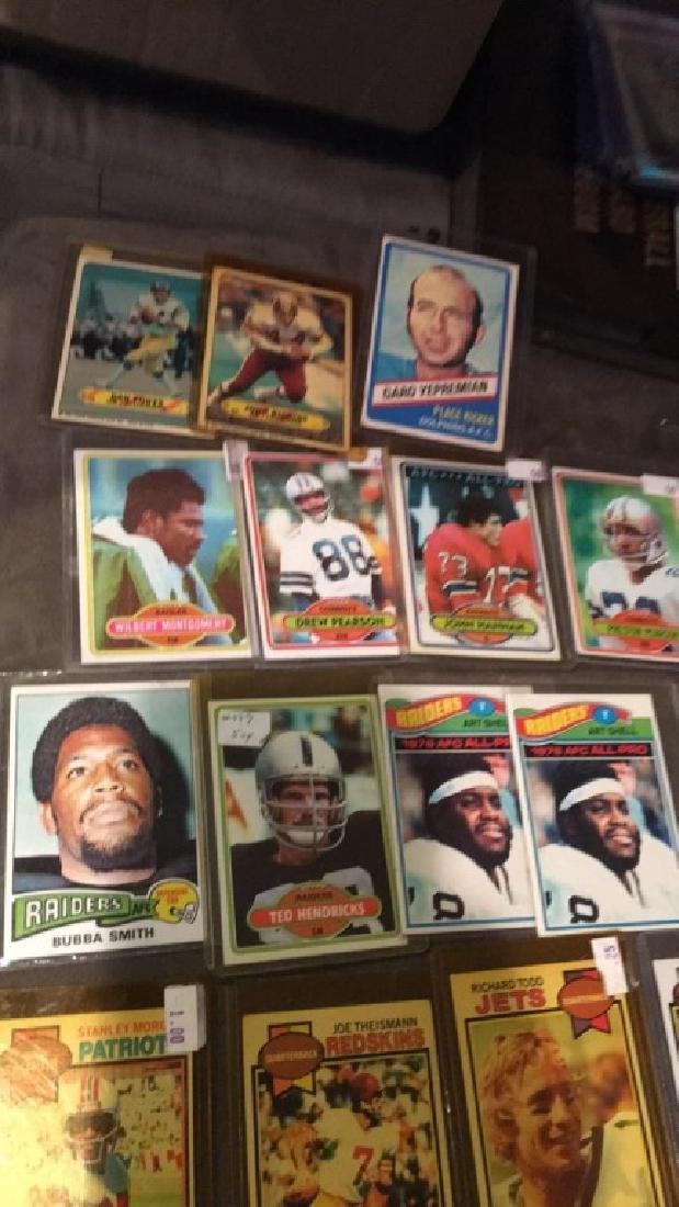 Vintage football card lot or at shell Joe - 3