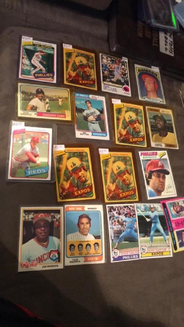 Vintage baseball card lot loaded with names Yogi