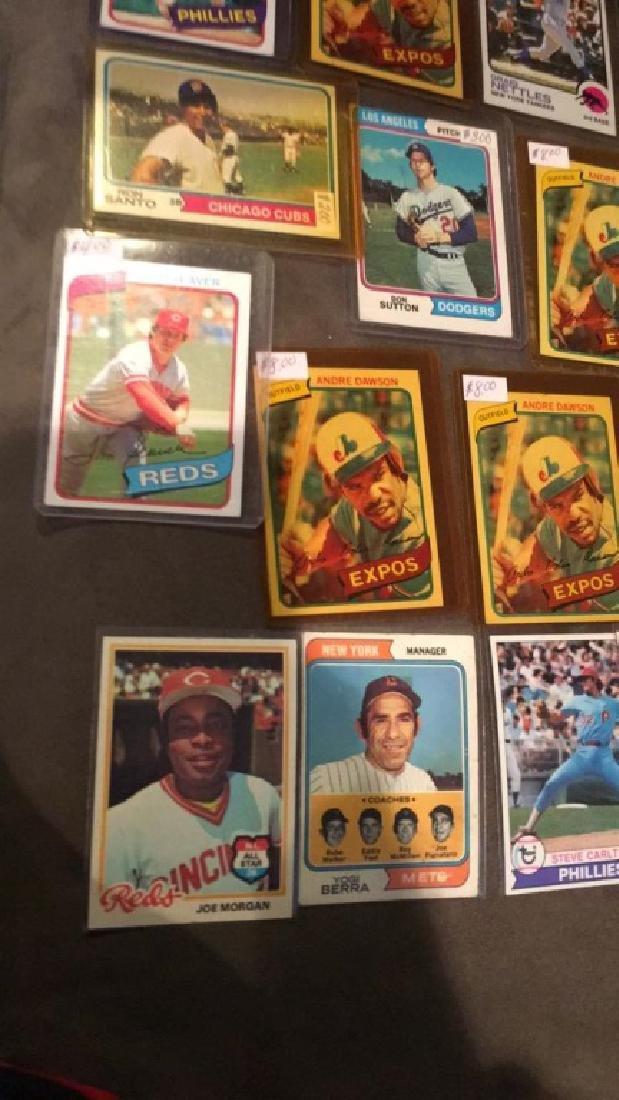 Vintage baseball card lot loaded with names Yogi - 2