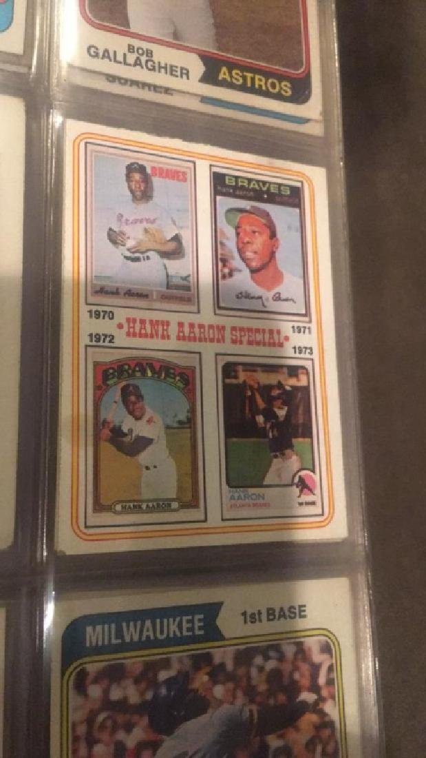 1974 Topps Near Complete starter set in a - 3