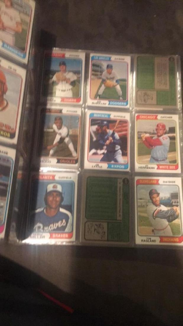 1974 Topps Near Complete starter set in a - 5