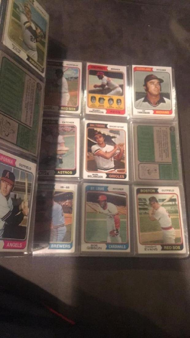 1974 Topps Near Complete starter set in a - 6