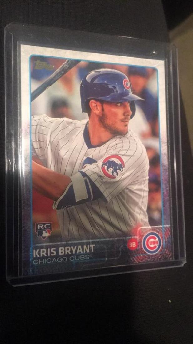 Kris Bryant 2016 Topps Berger's Best insert RC