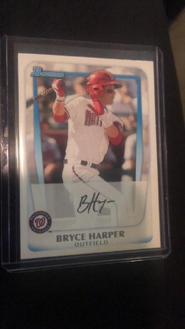 Bryce Harper 2011 Bowman RC #BP1