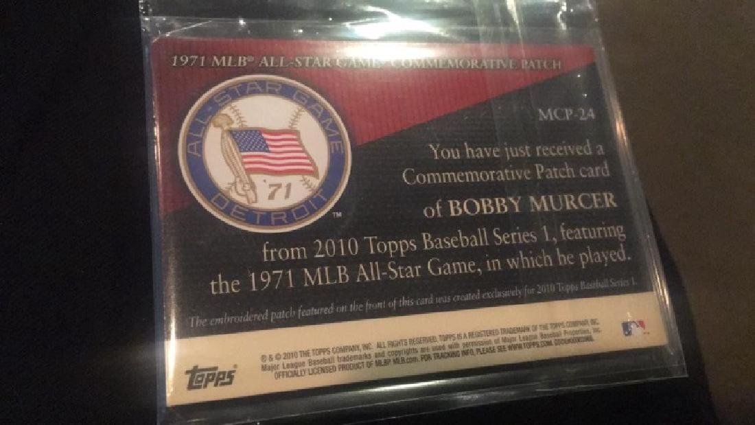Bobby Murcer Topps patch - 2