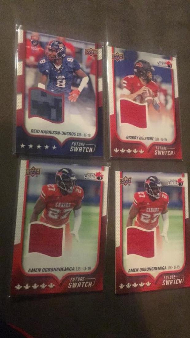 2016 USA Football 4 Future Swatch lot