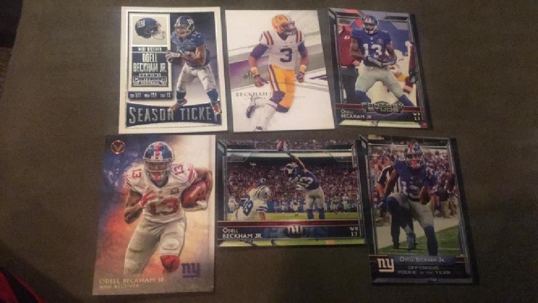Odell Beckham Jr 6 card lot - 2