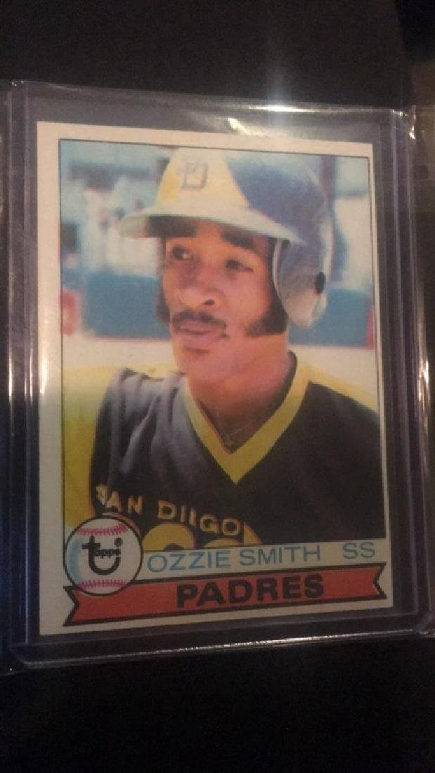 Ozzie Smith 1979 Topps RC
