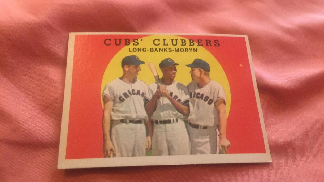 Cubs Clubbers Long Banks Moryn