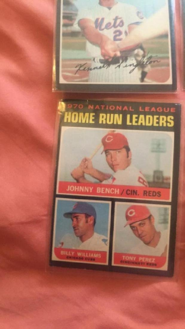 1971 Topps lot with Johnny Bench and more - 2