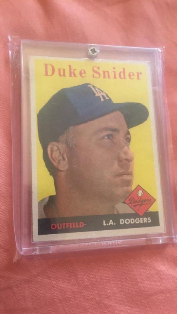 Duke Snider 1958 Topps #88