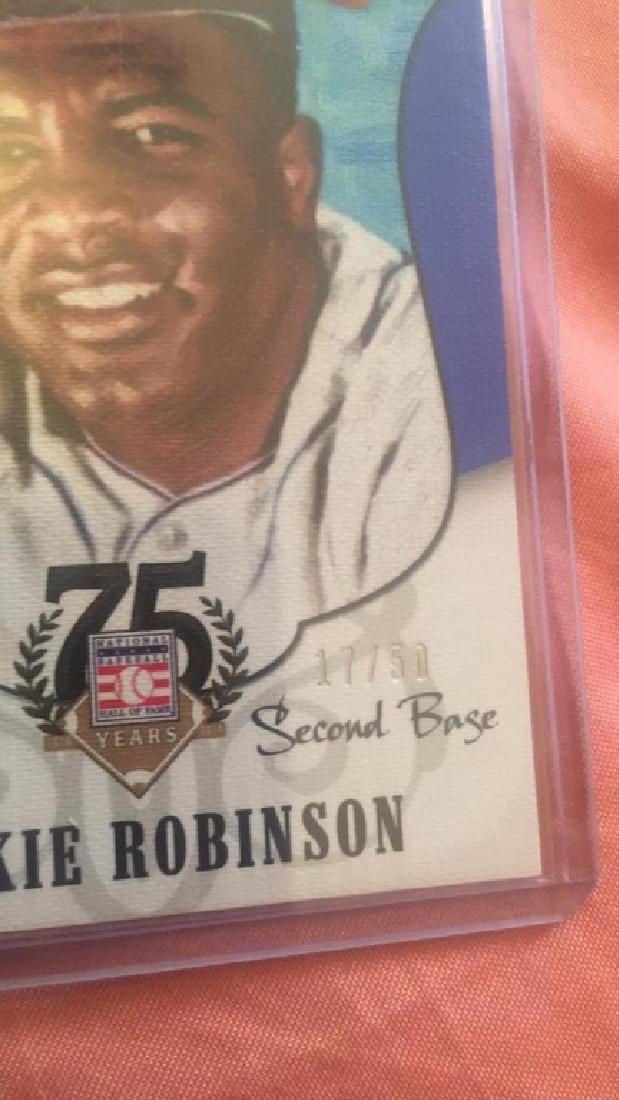 Jackie Robinson 2015 Diamond Kings blue SP /50 - 2