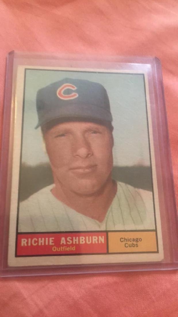 Richie Ashburn 1961 Topps