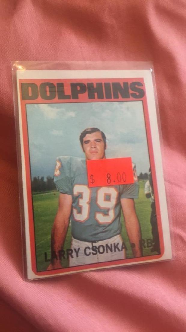 Larry Csonka 1972 Topps
