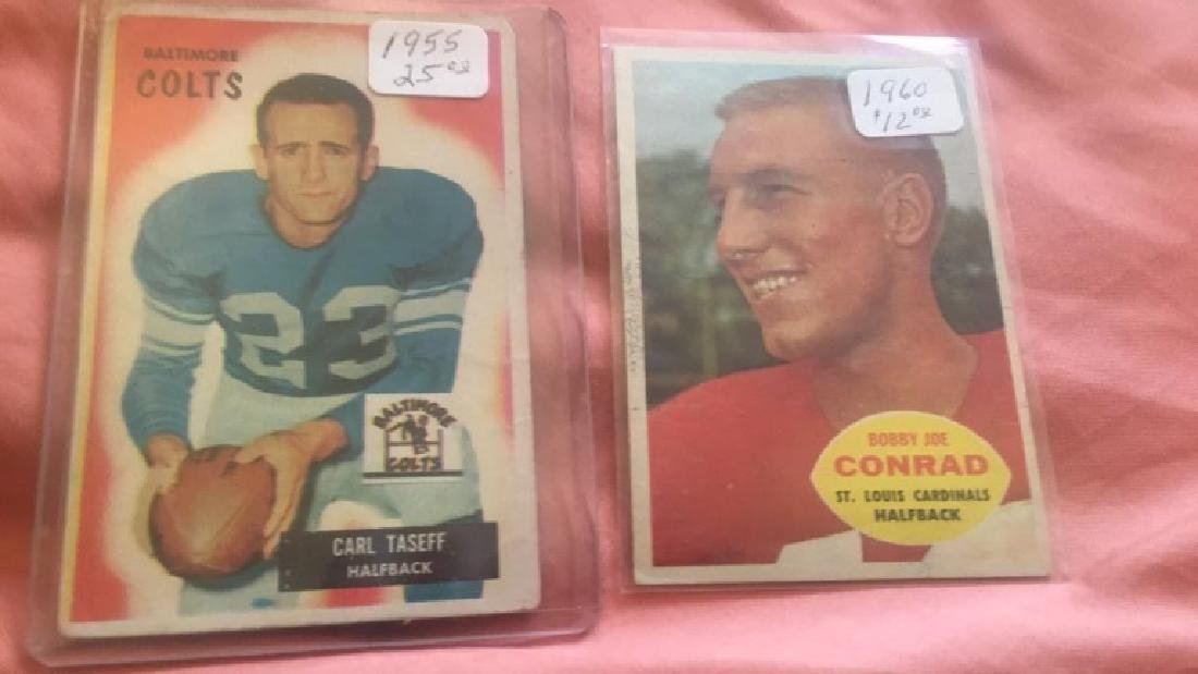 Carl Taseff 1955 Bowman and 1960 Bobby Joe Conrad