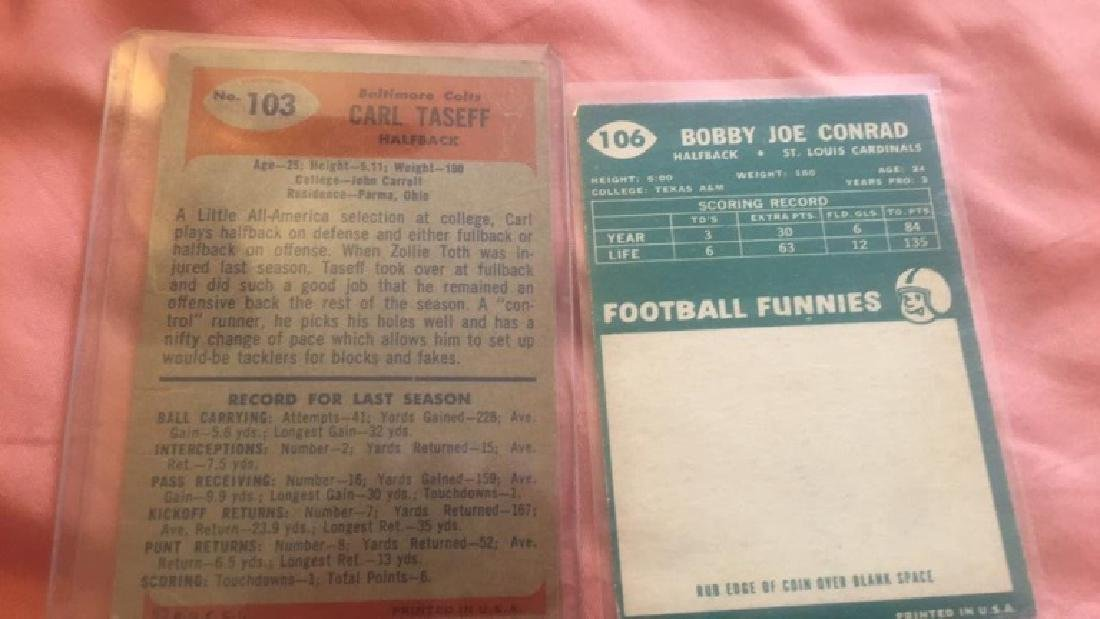 Carl Taseff 1955 Bowman and 1960 Bobby Joe Conrad - 2