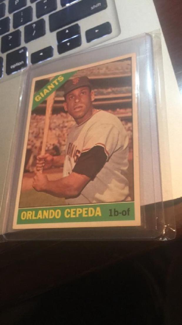 Orlando Cepeda 1966 Topps