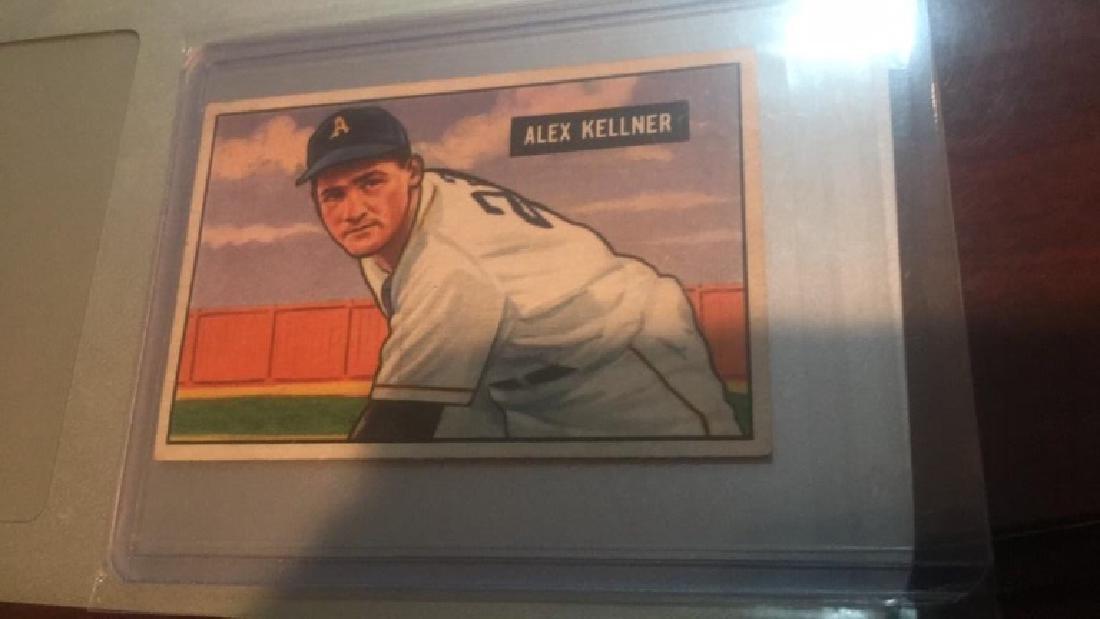 Alex Kellner 1951 Bowman