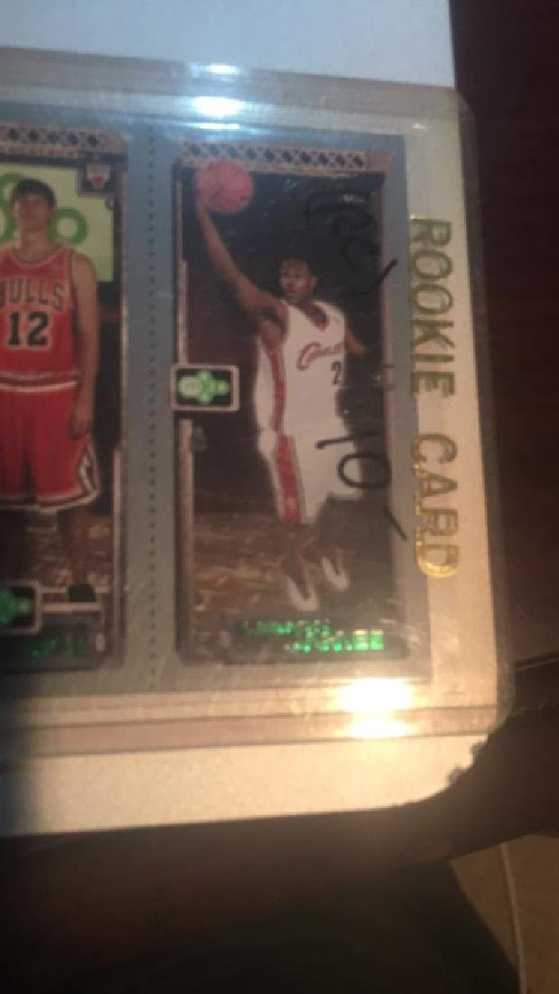Lebron James Chris Bosh RC card - 2