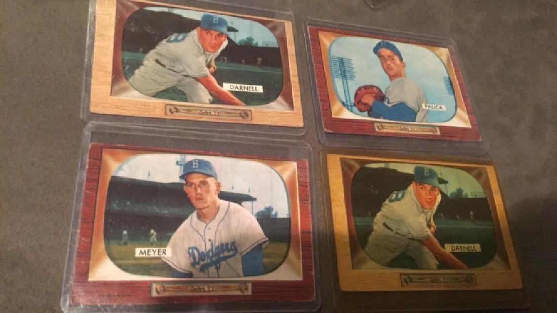 1955 Bowman lot of 4 Cards Vintage Baseball Card