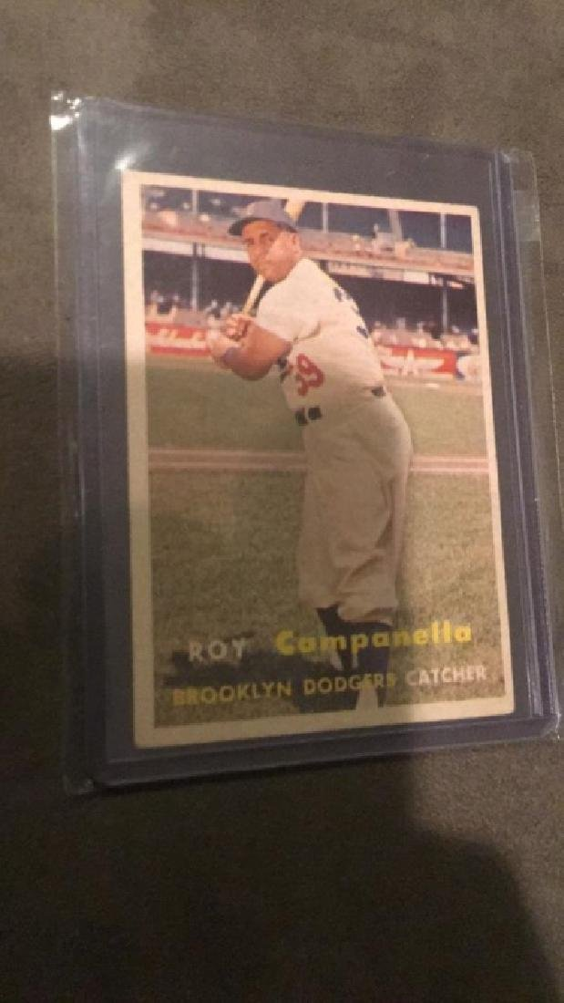 Roy Campanella 1957 Topps in Real Nice shape