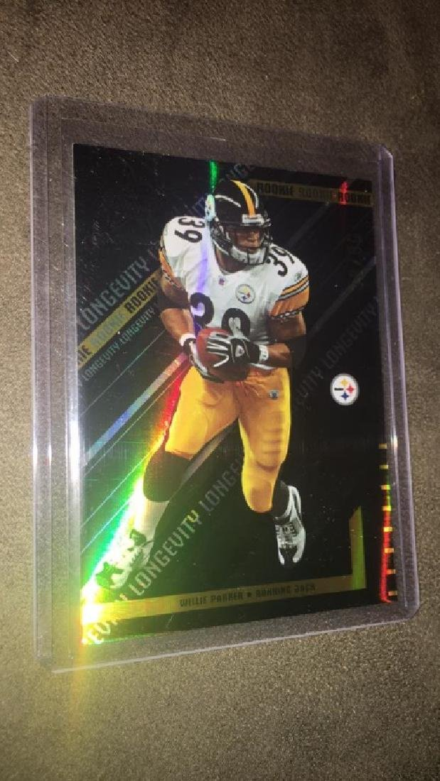 Willie Parker Rookies and stars 2004 RC SO /50