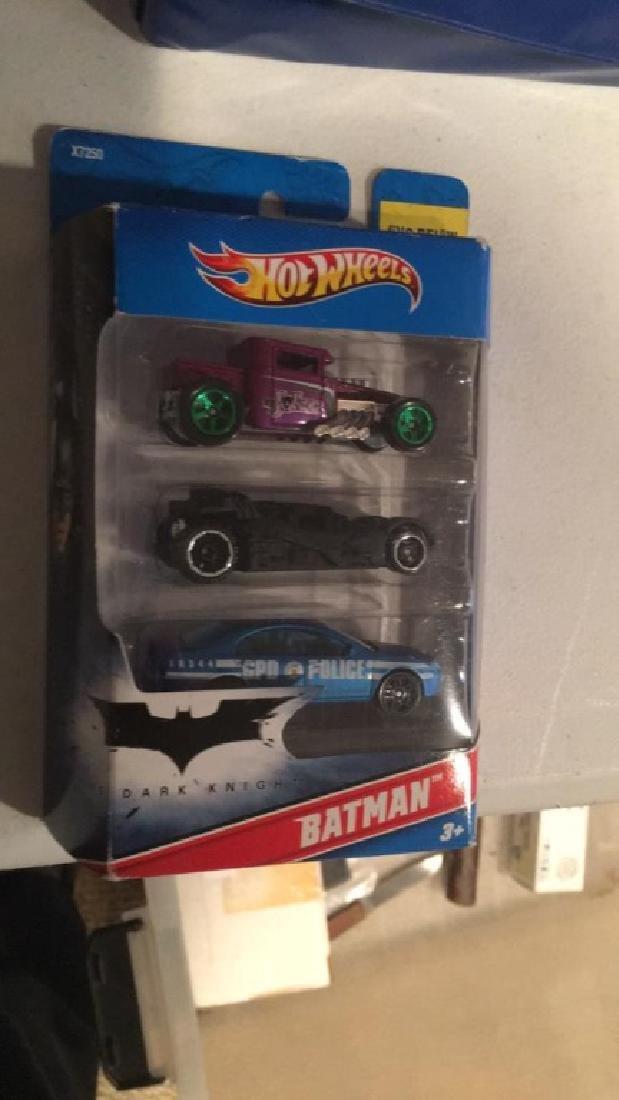 Hot Wheels Batman 3 car lot