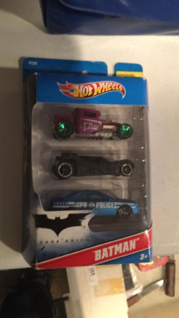 Hot Wheels Batman 3 car lot - 2