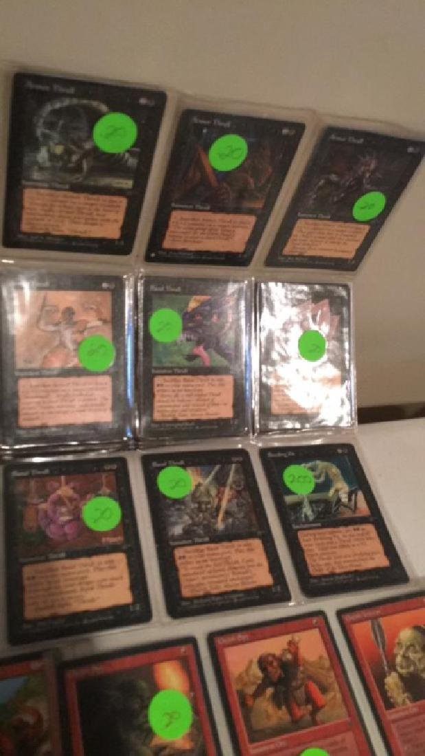 Magic the gathering vintage Card lot over 75 - 6