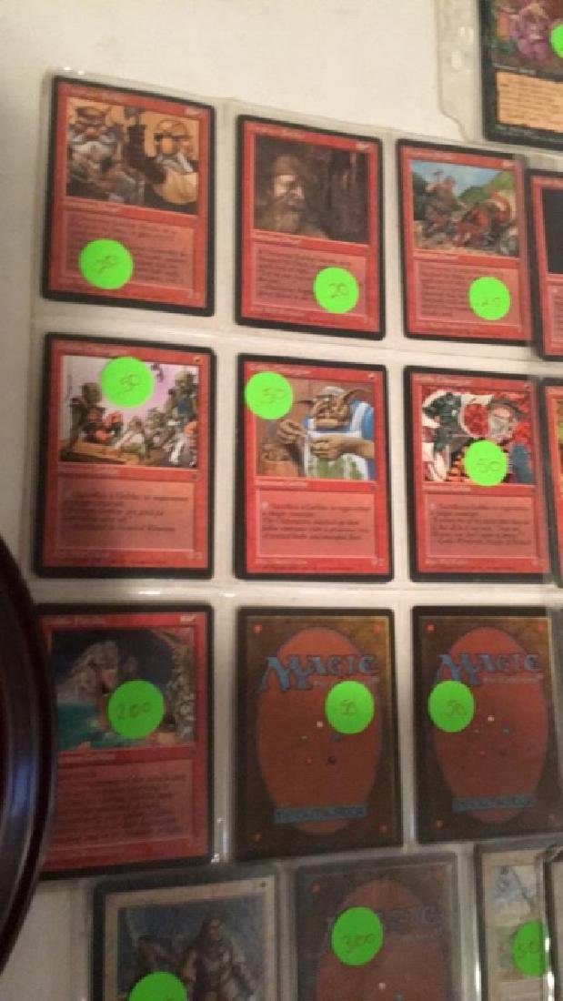 Magic the gathering vintage Card lot over 75 - 7