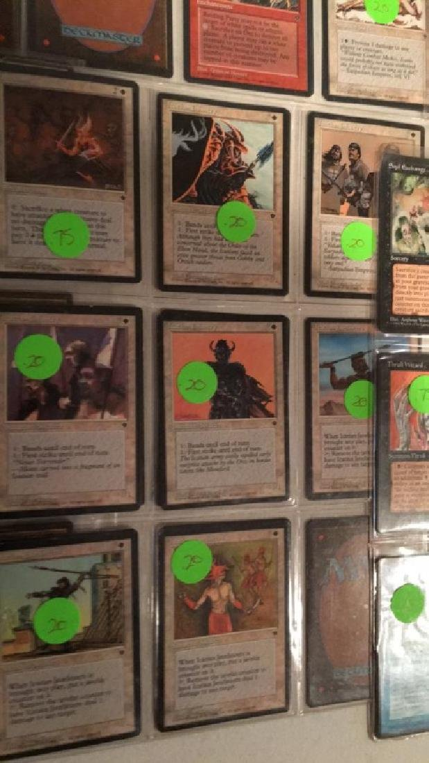 Magic the gathering vintage Card lot over 75 - 8