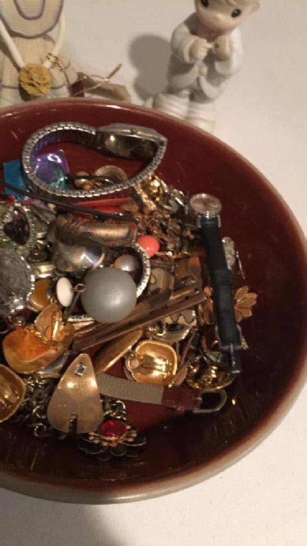 Large mixed jewelry lot with watches earring - 3