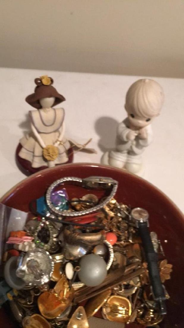 Large mixed jewelry lot with watches earring - 4