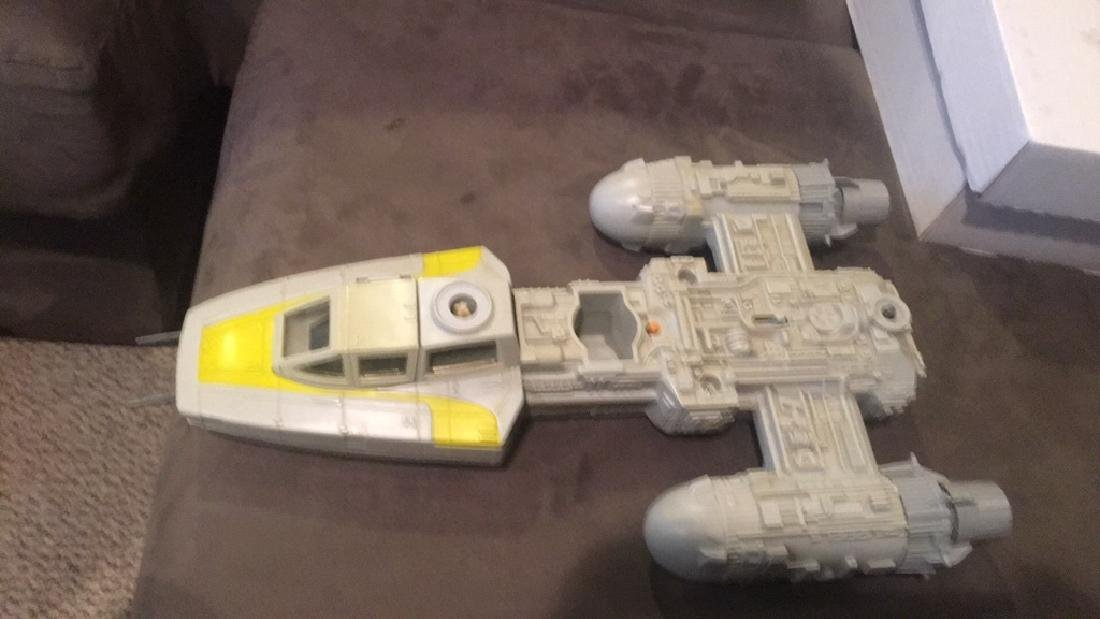 1983 Star Wars Plane Vintage Star Wars toy - 3