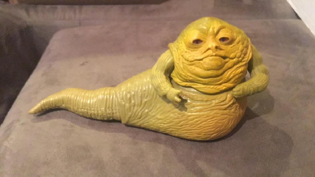 1983 Jabba the hut Star Wars Figure - 3