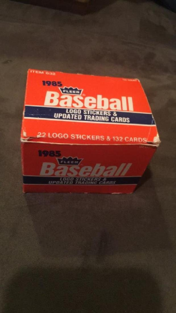 1985 Fleer update baseball set