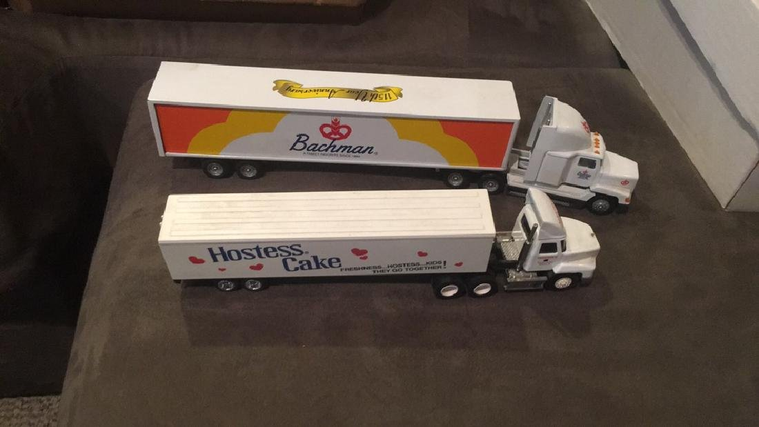 Bachman and Hostess Cake semi Truck lot